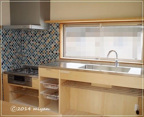キッチン キッチン 電子レンジ 棚 : WEB内覧会/造作キッチンの収納 ...