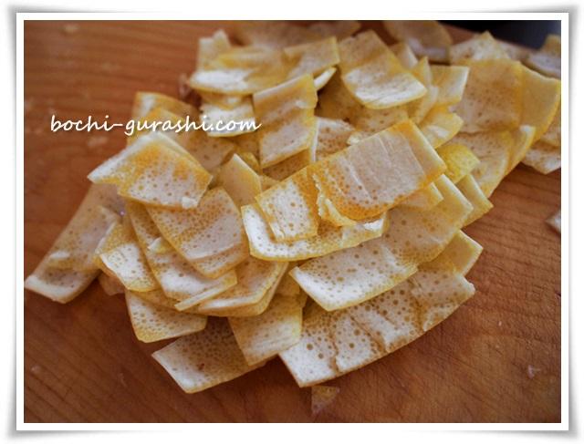 レモンの皮