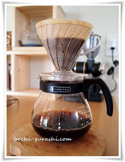 ハリオテコでコーヒー