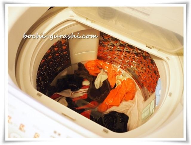 洗濯物つけ置き