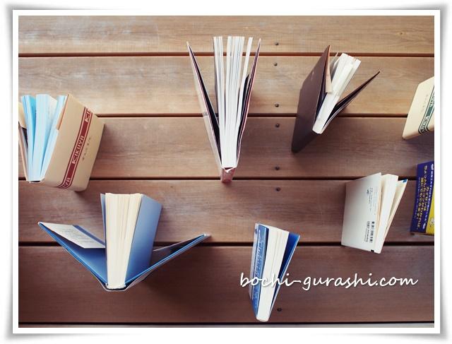 本の虫干し