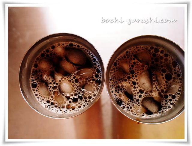 ドリップアイスコーヒーふたつ