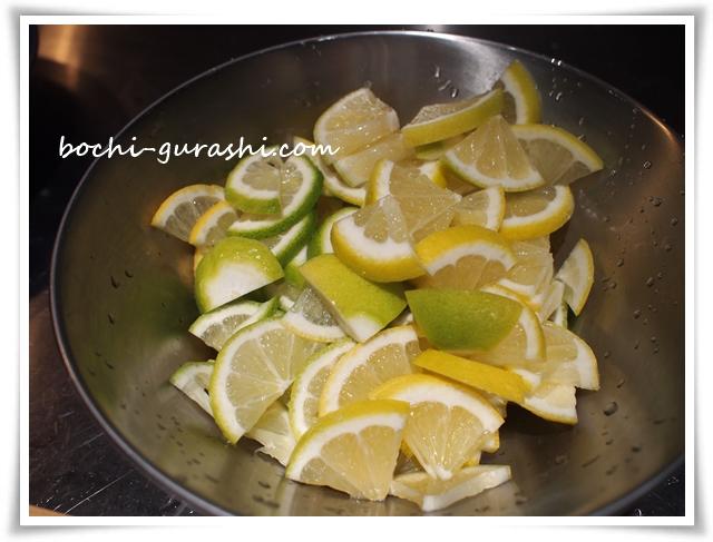 レモン薄切り