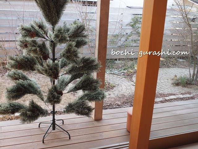 購入したクリスマスツリー